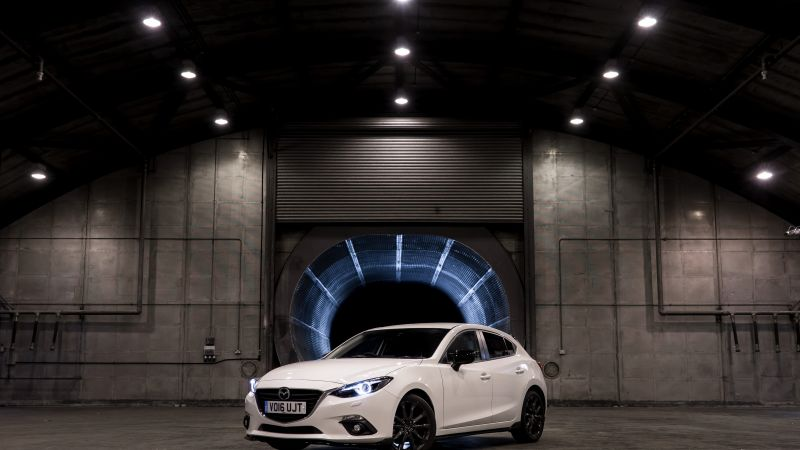 Mazda3 Sport Black Special Edition, sport car, white (horizontal)