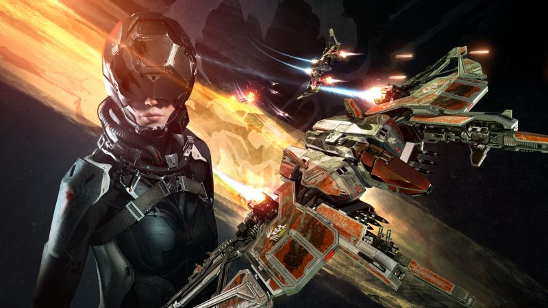 EVE: Valkyrie, PS4, PS VR, Oculus Rift (horizontal)