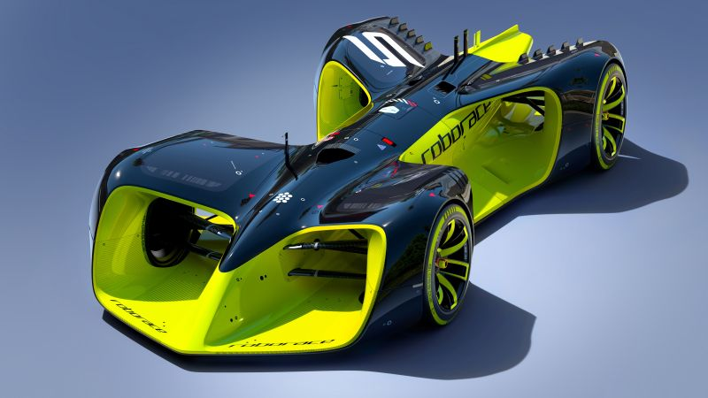 Roborace, future cars, Hybrid, Formula E season, electric cars, Daniel Simon (horizontal)