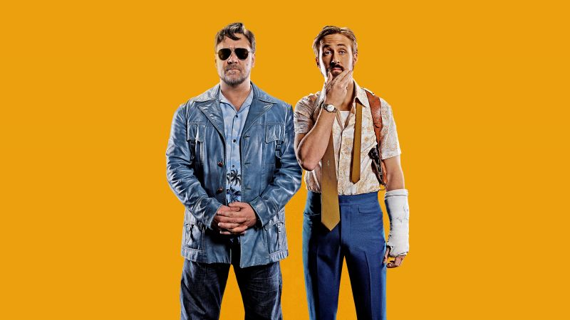 The Nice Guys, Ryan Gosling, Russell Crowe, best movies of 2016 (horizontal)