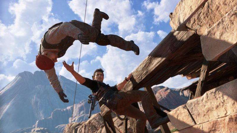 Uncharted 4: A Thief's End, Nathan Drake, Best Games of 2016 (horizontal)