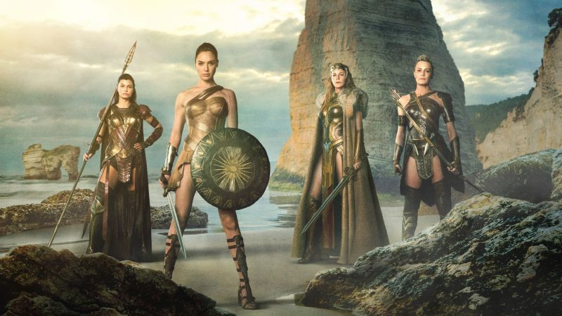 Wonder Woman, Gal Gadot, superhero film, DC Comics, Best Movies of 2016 (horizontal)