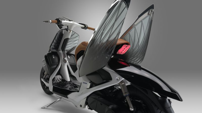 Yamaha 04GEN, scooter, wings (horizontal)