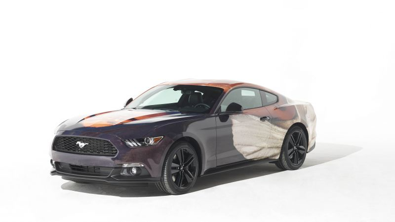 Ford Mustang, Thomas Lelu, art car (horizontal)