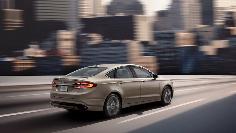 Ford Fusion platinum, sedan (horizontal)