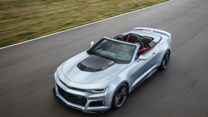 Chevrolet Camaro ZL1 convertible, NYIAS 2016, grey (horizontal)