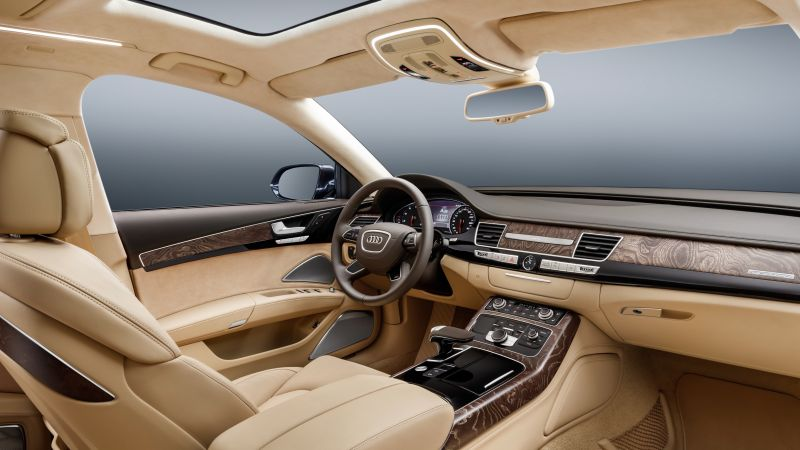 Audi A8 L Extende, luxury cars, interior (horizontal)