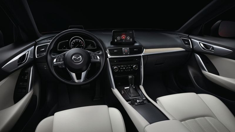 Mazda CX-4, Beijing Motor Show 2016, Auto China 2016, interior (horizontal)