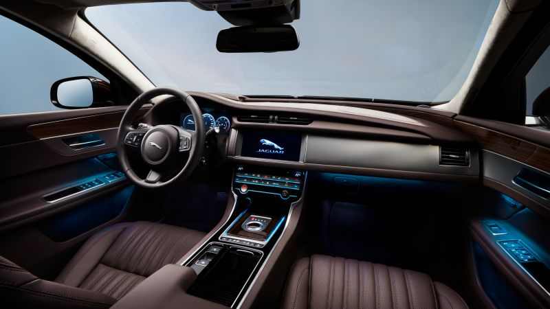 Jaguar XFL, Beijing Motor Show 2016, Auto China 2016, business sedan, interior (horizontal)