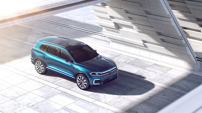 Volkswagen T-Prime GTE, Beijing Motor Show 2016, Auto China 2016, crossover (horizontal)