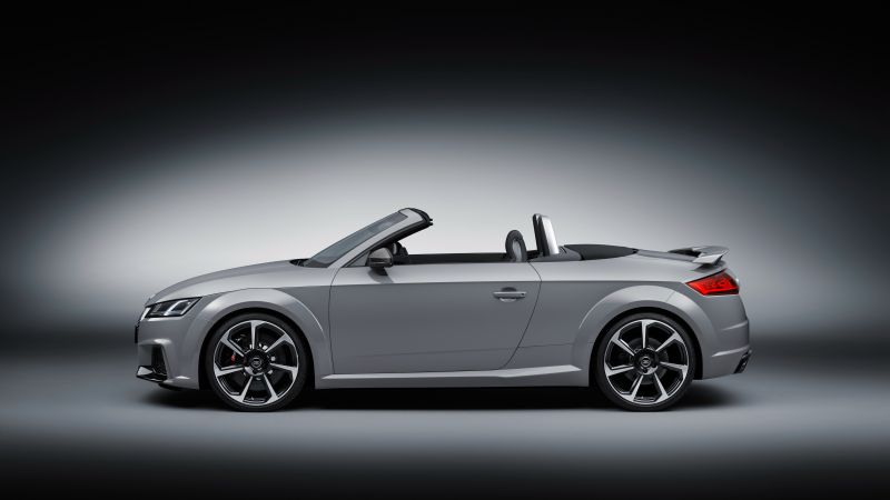 Audi TT RS, Roadster (8S), Beijing Motor Show 2016, Auto China 2016, silver (horizontal)