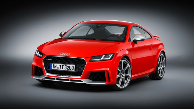 Audi TT RS Coupé (8S), Beijing Motor Show 2016, Auto China 2016, red (horizontal)