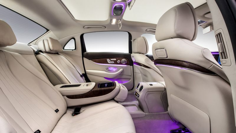 Mercedes-Benz E 320 L Exclusive Line, Beijing Motor Show 2016, Auto China 2016, 4MATIC, interior (horizontal)