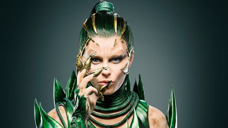 Power Rangers, Elizabeth Banks, Rita Repulsa, superhero (horizontal)