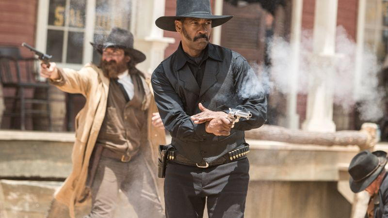 The Magnificent Seven, Denzel Washington (horizontal)