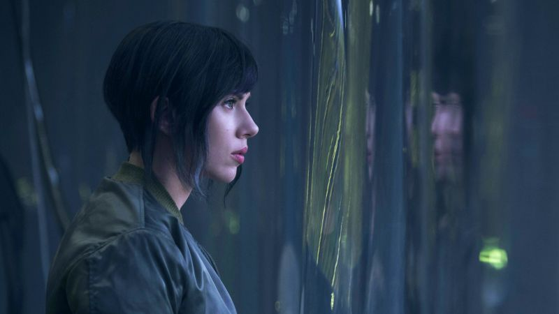 Ghost in the Shell, Scarlett Johansson (horizontal)