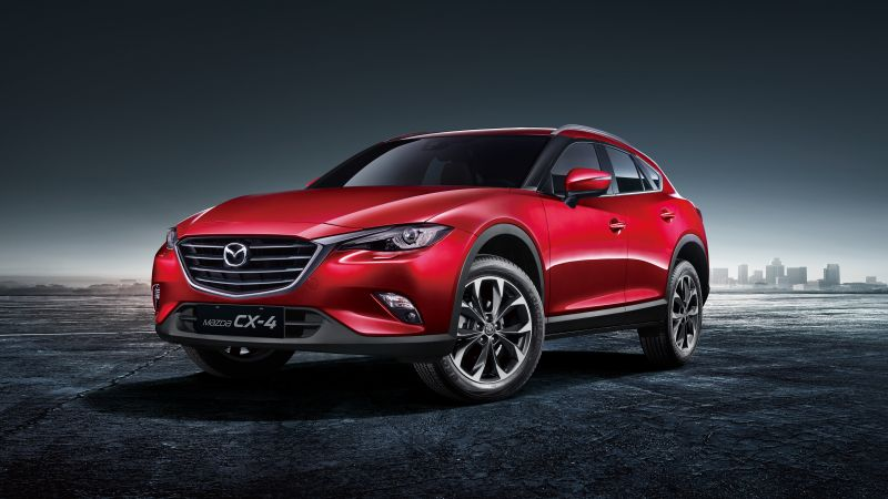 Mazda CX-4, Beijing Motor Show 2016, Auto China 2016, crossover, red (horizontal)