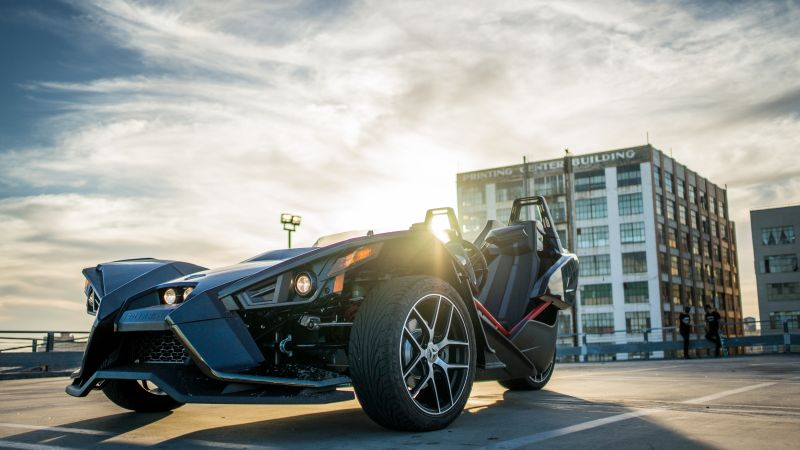 Polaris Slingshot, limited edition, black (horizontal)