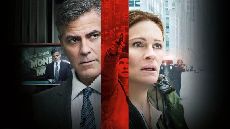 Money Monster, George Clooney, Julia Roberts, Jack O'Connell, Best Movies (horizontal)