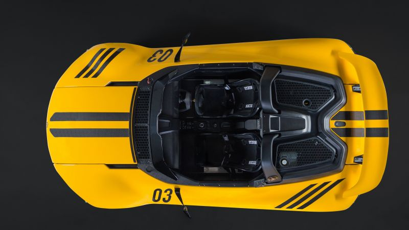 Vuhl 05, supercar, yellow, sport cars (horizontal)