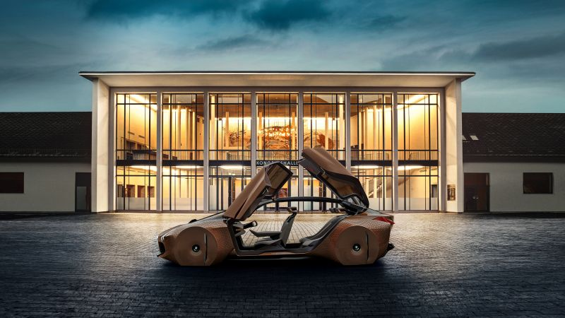 BMW Vision Next 100, future cars, supercars (horizontal)
