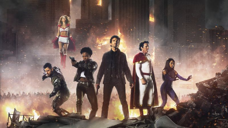 Powers, Season 2, BEST TV SERIES, PlayStation (horizontal)