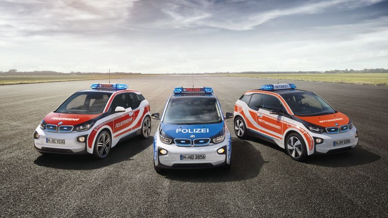 Bmw i3, electric cars, RETTmobil 2016, safety car (horizontal)
