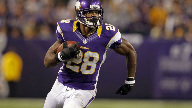 Adrian Peterson, Minnesota Vikings Bar, american football, 28 (horizontal)