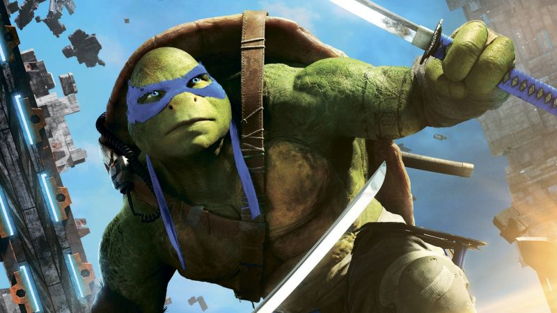 Teenage Mutant Ninja Turtles: Half Shell, leonardo, Best Movies of 2016, Turtles (horizontal)