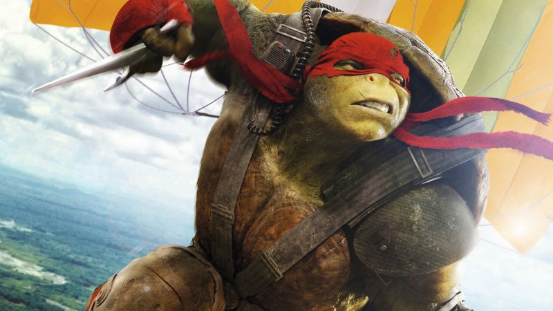 Teenage Mutant Ninja Turtles: Half Shell, raphael, Best Movies of 2016, Turtles (horizontal)