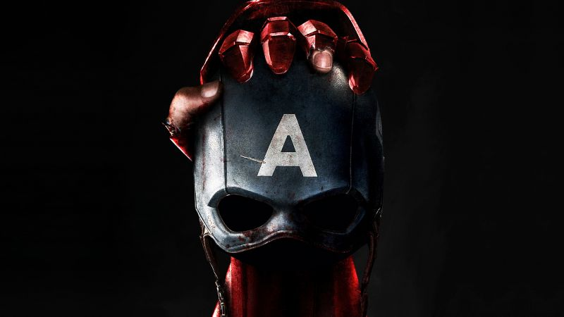 Captain America 3: civil war, skull, mask, Iron Man, Marvel, best movies of 2016 (horizontal)