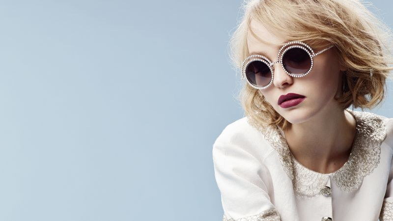 Lily-Rose Depp, CHANEL, glasses (horizontal)