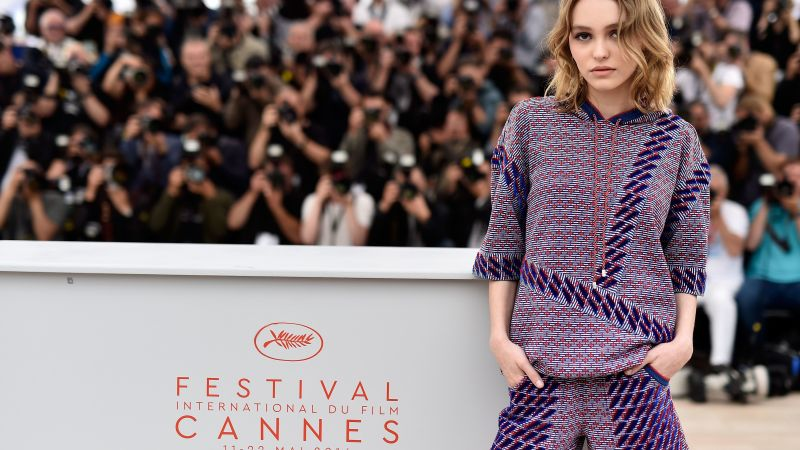 Lily-Rose Depp, Cannes Film Festival 2016 (horizontal)