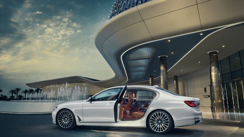 BMW 750Li xDrive Solitaire, luxury car (horizontal)