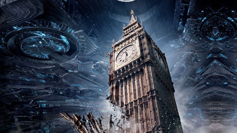 Independence Day: Resurgence, Big Ben, best movies 2016 (horizontal)