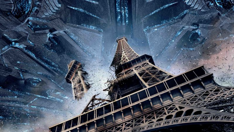 Independence Day: Resurgence, tour Eiffel, paris, best movies 2016 (horizontal)