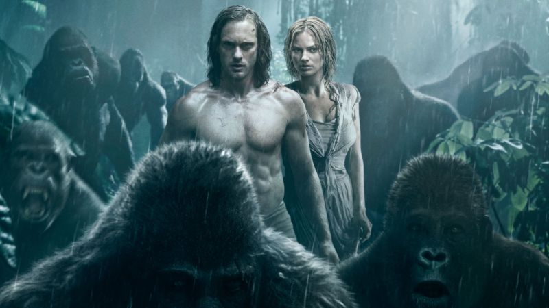 The Legend of Tarzan, Alexander Skarsgård, Margot Robbie, best movies 2016 (horizontal)