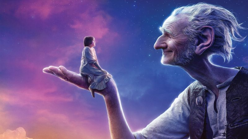 The BFG, Giant, Sophie, Ruby Barnhill, best movies 2016 (horizontal)