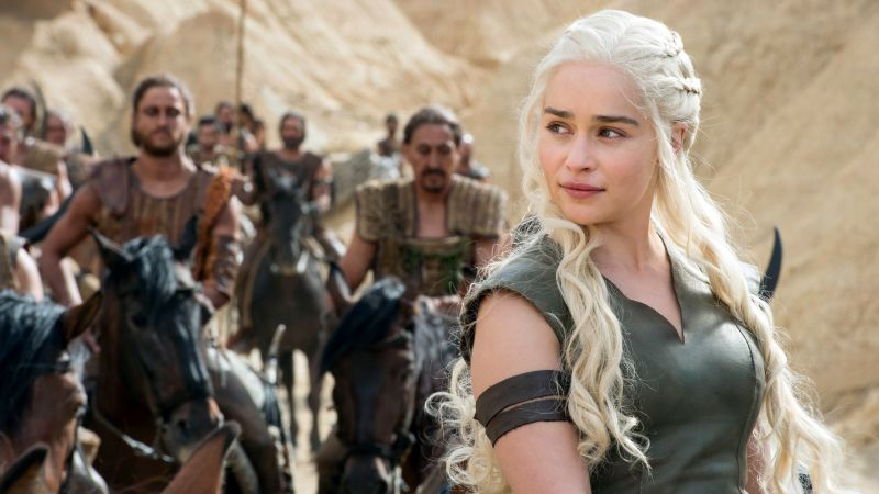 Game of Thrones, Emilia Clarke, Best TV Series, 6 season, Blood of my Blood (horizontal)