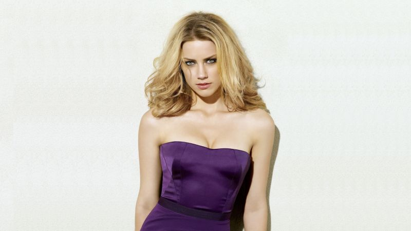 Amber Heard, Most popular celebs, actress, model (horizontal)