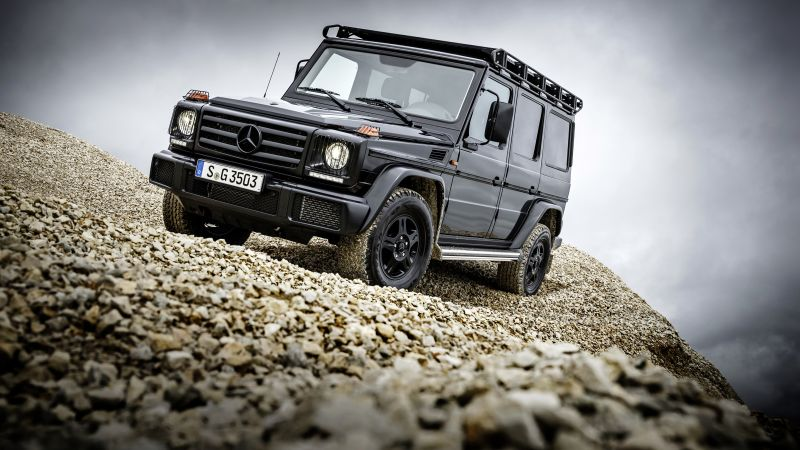 Mercedes-Benz G 350 d Professional, suv, black (horizontal)