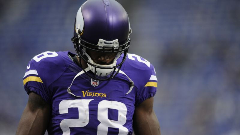 Adrian Peterson, Minnesota Vikings Bar, american football (horizontal)