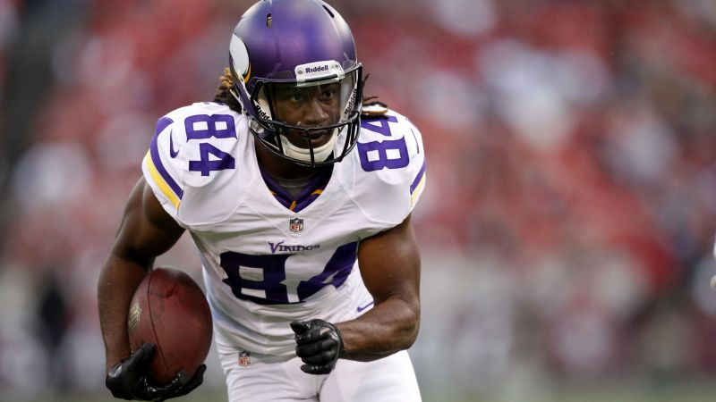Cordarrelle Patterson, american football, NFL, Minnesota Vikings (horizontal)
