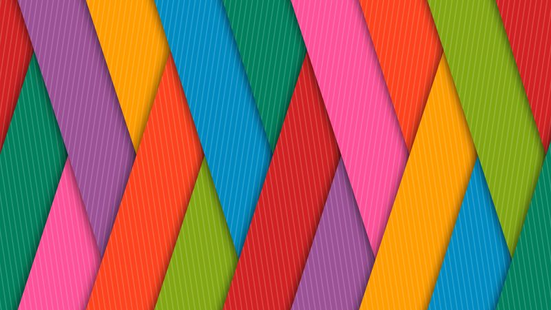 Colorful Strips, 4k, 5k wallpaper, android wallpaper (horizontal)
