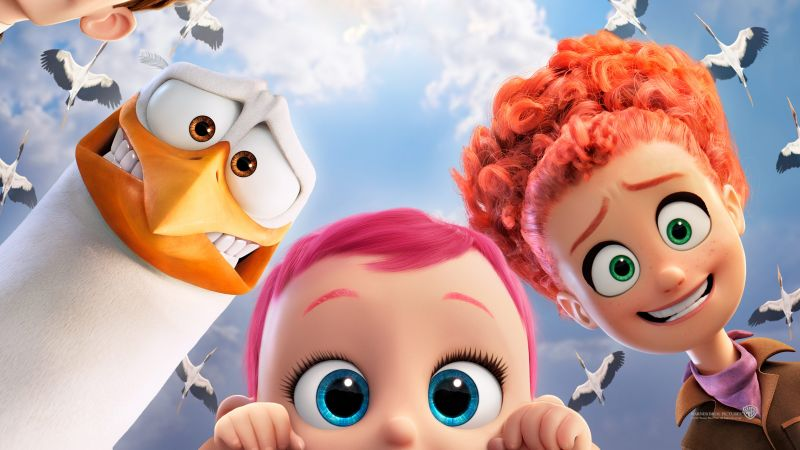 Storks, best animation movies of 2016 (horizontal)