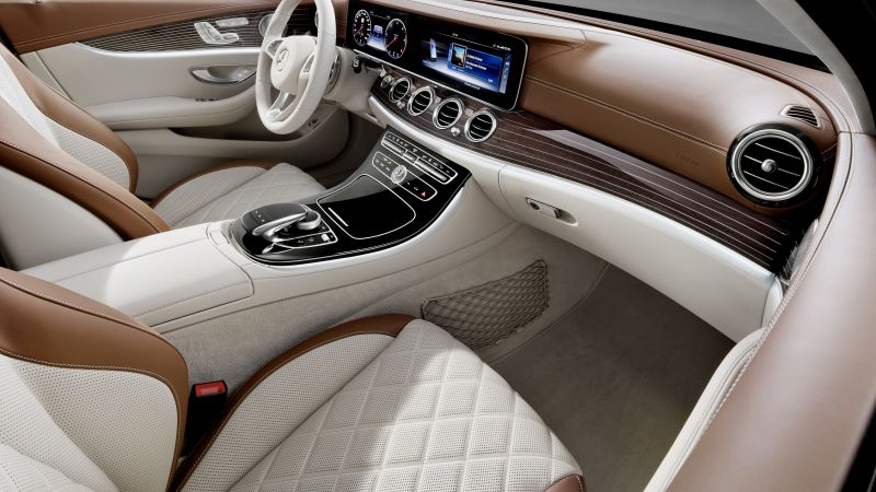 Mercedes-Benz E 200 d Exclusive Line Estate, luxury cars, interior (horizontal)