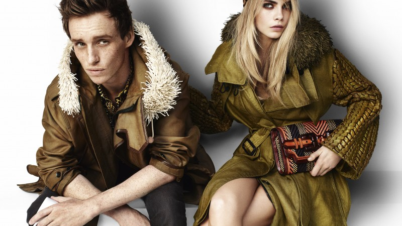 eddie redmayne, cara delevingne, model, actress, blonde, look, girl, actor (horizontal)
