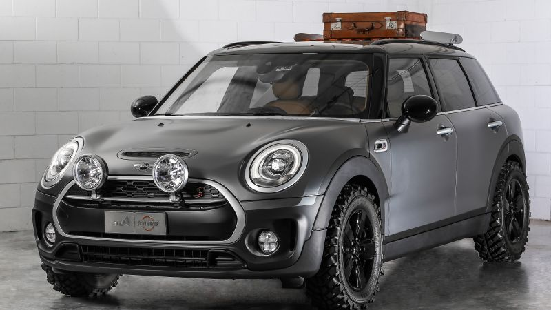 Mini Clubman All4 Scrambler, mini, grey (horizontal)