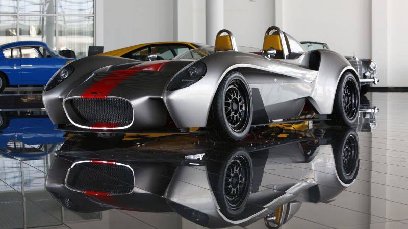Jannarelly Design 1, supercar, silver (horizontal)