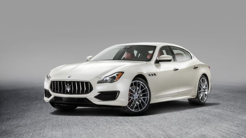 Maserati Quattroporte GranLusso, sedan, luxury cars (horizontal)